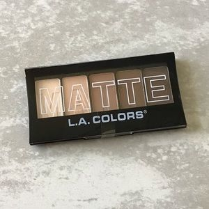 New L.A. Colors Matte Neutrals Palette